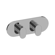 Ametis M-Series Valve Horizontal Trim with Two Handles