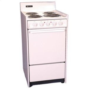 "Brown20"" Free Standing Electric Range"
