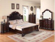 Sheffield King Bedroom Group: King Bed, Nightstand, Dresser & Mirror