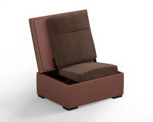 JumpSeat Ottoman, Canyon Cover / Mocha Seat