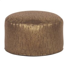 Foot Pouf Glam Chocolate