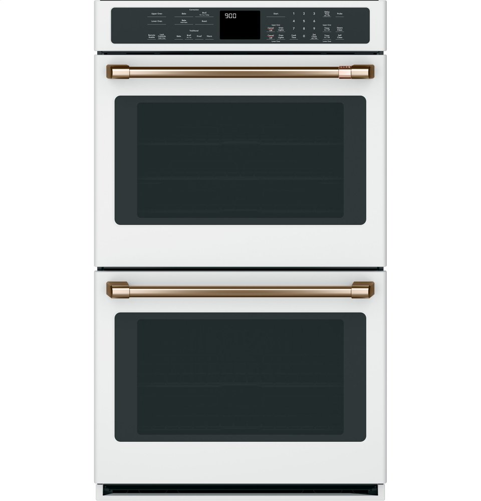 "Cafe AppliancesCaf(eback) 30"" Smart Double Wall Oven With Convection"