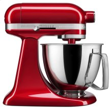 Artisan® Mini 3.5 Quart Tilt-Head Stand Mixer - Candy Apple Red