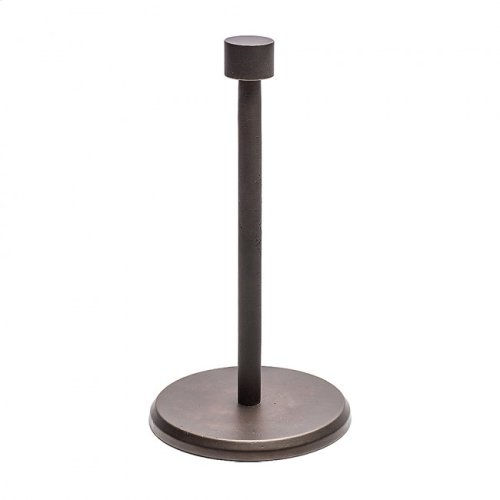 Standing Paper Towel Holder - PT5 White Bronze Brushed