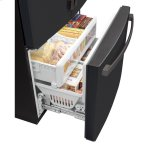 Ge(r) Energy Star(r) 23.1 Cu. Ft. Counter-Depth French-Door Refrigerator