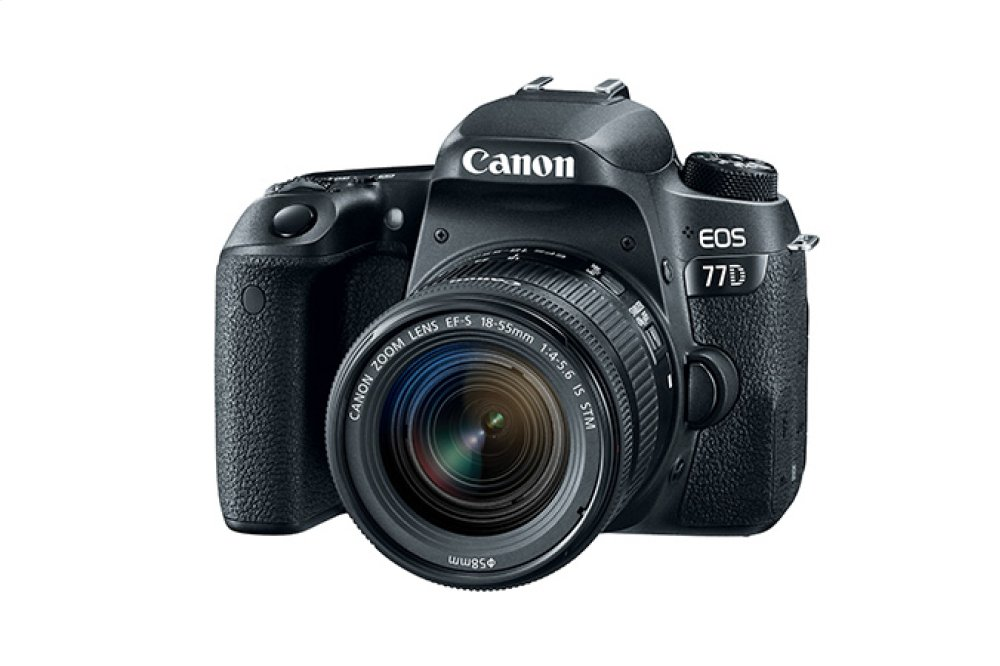 Canon EOS 77D EF-S 18-55mm f/4-5.6 IS STM Lens Kit EOS Digital SLR