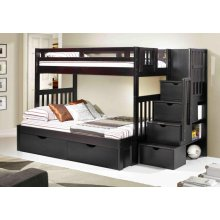 Naples Bunk With Staircase With Full Kit With Ubc