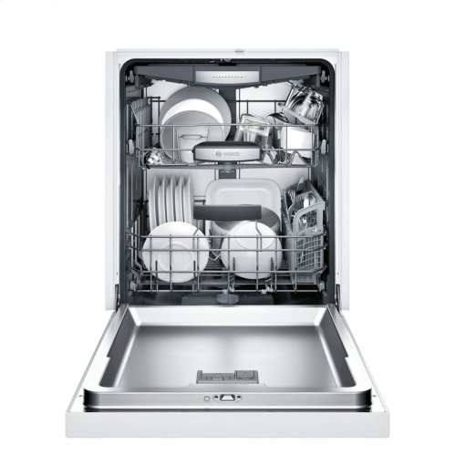 800 Series built-under dishwasher 24'' White SHE878WD2N