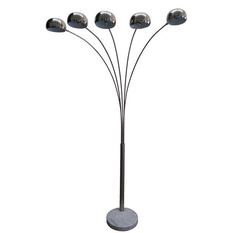 Fl16051stn in by standa home furnishings in concord on 5 arm arc 5 arm arc floor lamp hidden mozeypictures Image collections