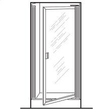 Prestige Framed Pivot Shower Doors - Gold