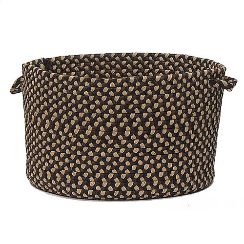 "Brook Farm Basket BF42 Blackberry 18"" X 12"""