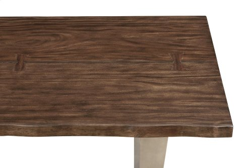 Emerald Home Sommerville Dining Table 36x84 Mahogany D205-10