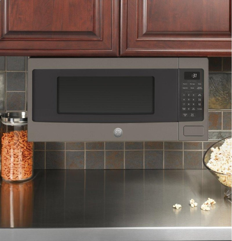 Ge Profile Series 1 Cu Ft Countertop Microwave Oven