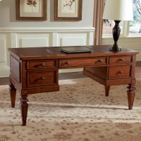 Windward Bay - Writing Desk - Warm Rum Finish Product Image