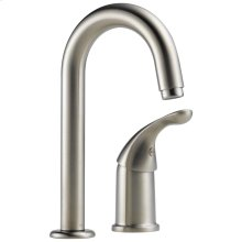 Stainless Single Handle Bar / Prep Faucet