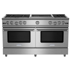 "Bluestar60"" RNB Series Range with 24"" Charbroiler"