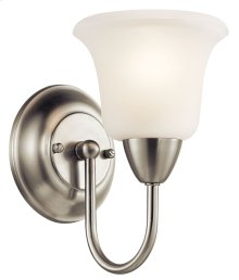 Nicholson 1 Light Wall Sconce Brushed Nickel