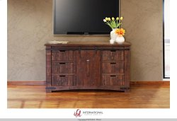 """60"""" TV Stand w/6 Drawer, 1 door w/2 shelves Product Image"""
