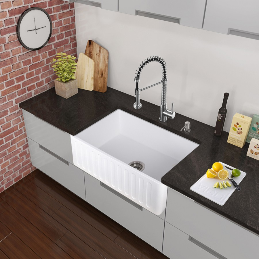 Hidden · Additional Edison Chrome Pull Down Spray Kitchen Faucet
