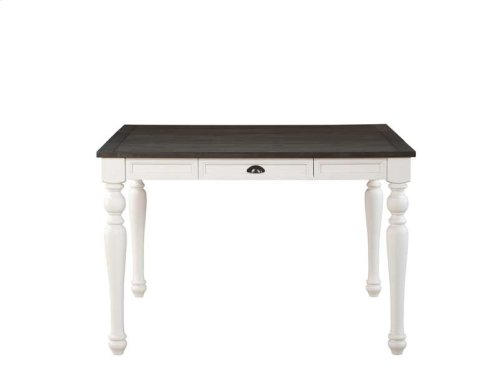 "Joanna Two Tone Counter Table 54""x36""x54""xw/18"" Leaf"