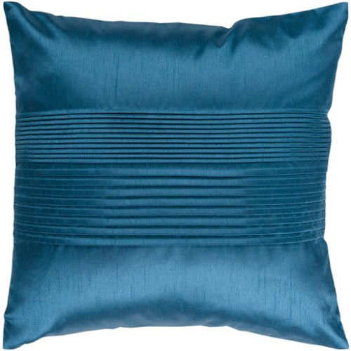 """Solid Pleated HH-024 18"""" x 18"""" Pillow Shell with Down Insert"""