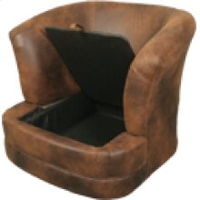 7423 Storage Barrel Chair