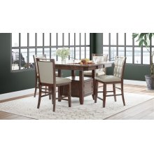 Manchester High/low Dining Table- Complete