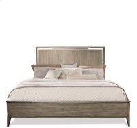 Sophie Panel Bed Natural finish Product Image