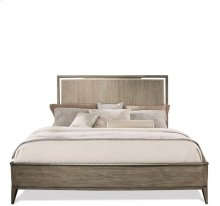 Sophie Panel Bed Natural finish