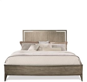 Sophie Panel Bed Natural finish