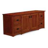 """Prairie Mission File Drawer Credenza, 74"""" Product Image"""