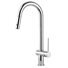 Oxygene kitchen mixer with pull-out double spray Max flow rate 1