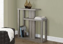 """ACCENT TABLE - 32""""L / DARK TAUPE HALL CONSOLE"""