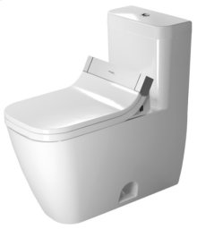 White Happy D.2 One-piece Toilet For Sensowash®
