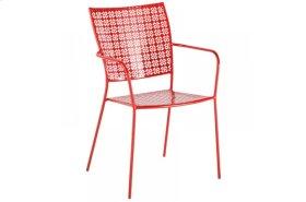 Martini Iron Stackable Bistro Chair - Cherry Pie