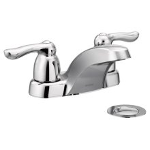 Chateau chrome two-handle bathroom faucet