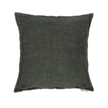 Lemmy Linen Feather Cushion Charcoal 20x20