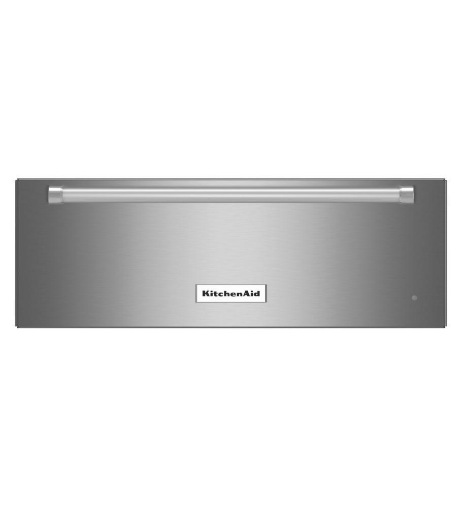 KitchenAid® 30'' Slow Cook Warming Drawer - Stainless Steel