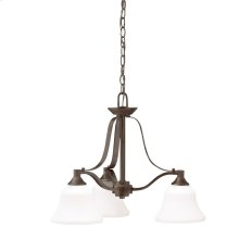 Langford Collection Chandelier 3Lt