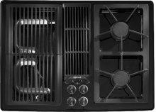 "Designer Line Gas 30"" Modular Downdraft Cooktop"