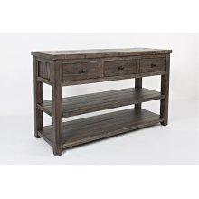 Madison County Sofa Table - Barnwood