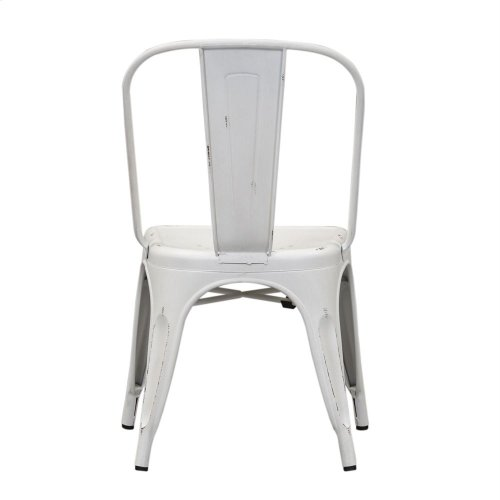 Bow Back Side Chair - Antique White