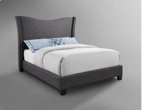 Carbon Upholstered Bed - King