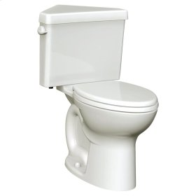 Cadet 3 Right Height Corner Toilet - 1.6 GPF - Bone