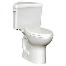 Cadet 3 Right Height Corner Toilet - 1.6 GPF - Bone