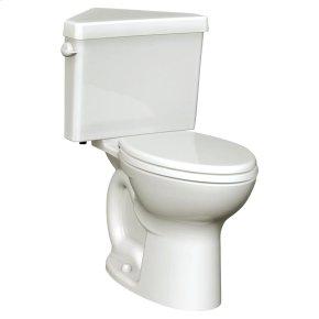 Cadet 3 Right Height Corner Toilet - 1.6 GPF - Linen