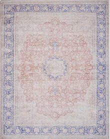 Mh Terracotta / Blue Rug