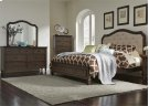 King Panel Bed, Dresser & Mirror, Chest Product Image