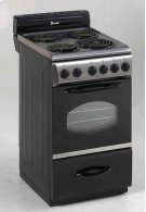 """20"""" Electric Range - Stainless Steel Product Image"""