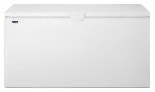 22 cu. ft. Chest Freezer with Door Lock